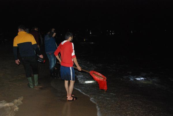 Sahile toplananlar bu kez umduğunu bulamadı