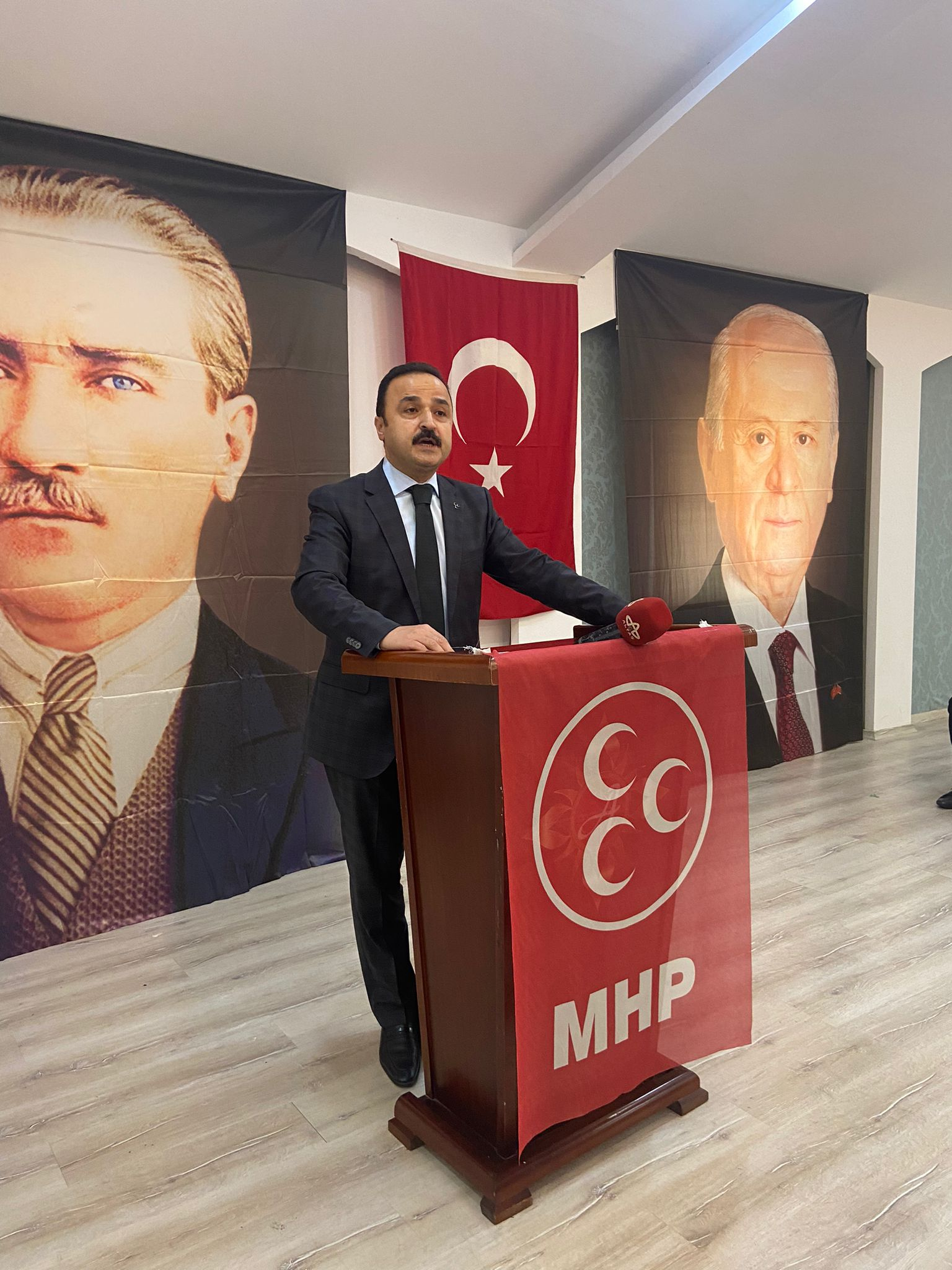 Milliyetçi Hareket Partisi (MHP) Ordu İl Başkanı Naci Şanlıtürk